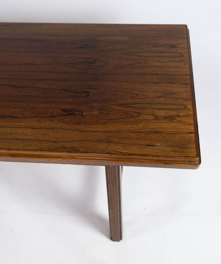 Coffee Table in Rosewood Designed by Edmund Jørgensen and from the 1960s In Good Condition For Sale In Lejre, DK