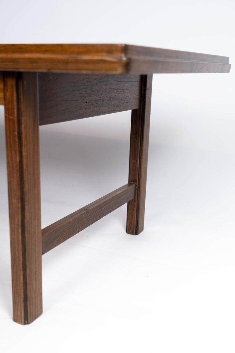 Mid-20th Century Coffee Table in Rosewood Designed by Edmund Jørgensen and from the 1960s For Sale