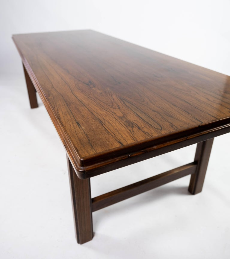 Coffee Table in Rosewood Designed by Edmund Jørgensen and from the 1960s For Sale 1