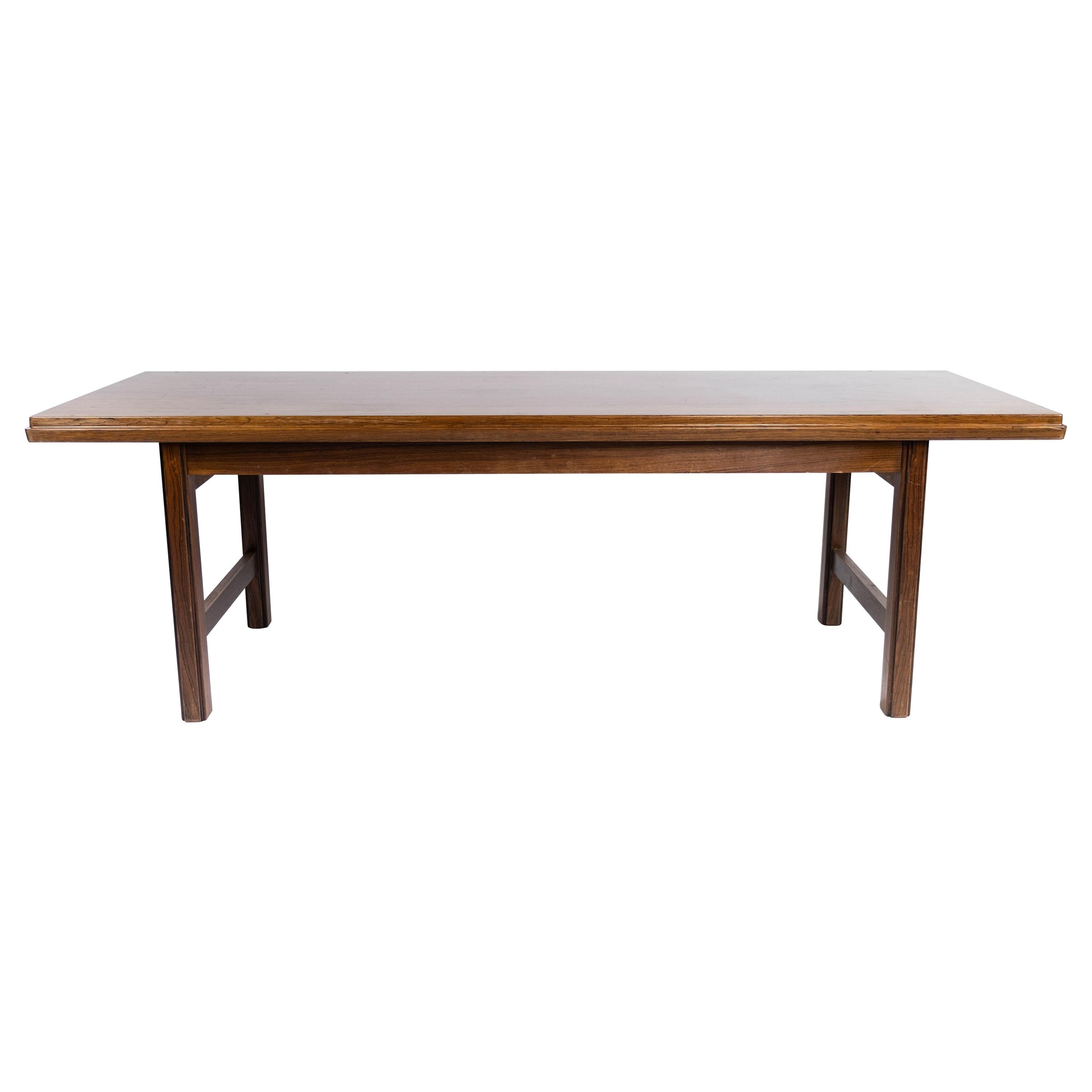 Coffee Table in Rosewood Designed by Edmund Jørgensen and from the 1960s