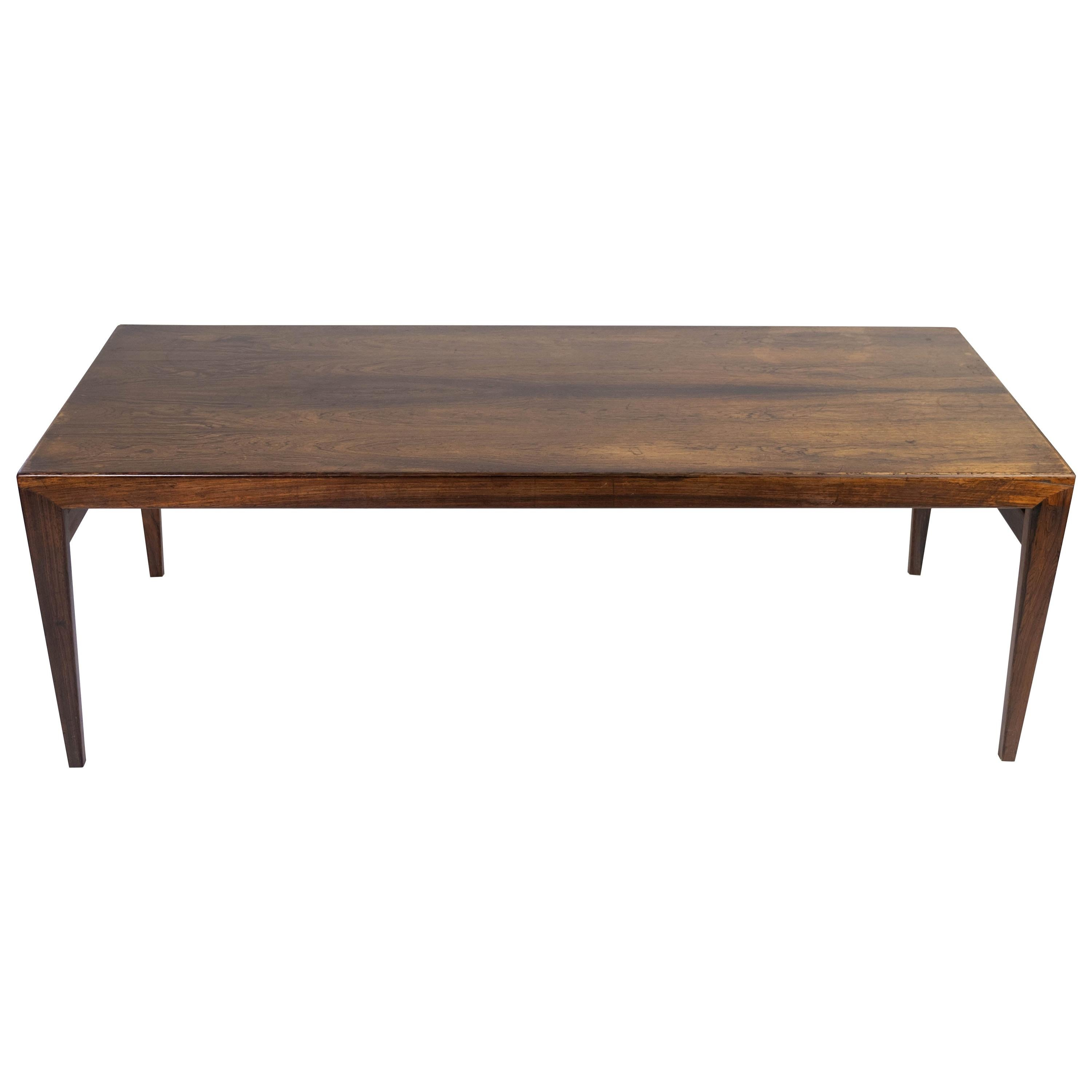 Coffee Table in Rosewood of Danish Design from the 1960s