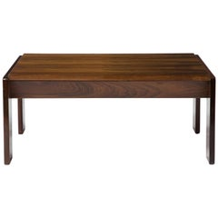 Coffee Table in Rosewood with Exposed Hardware, 1970s