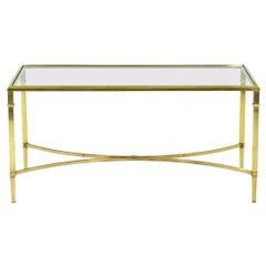 Coffee Table in Solid and Gilt Bronze, 1970's
