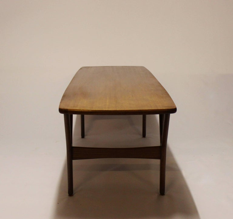 Scandinavian Modern Coffee Table in Teak of Danish Design from the 1960s For Sale
