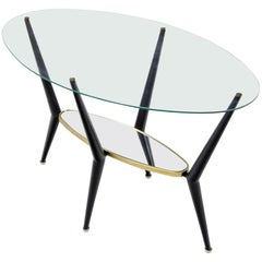Coffee Table in the Style of Lacca, Italy 1950s