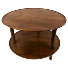Coffee Table in Walnut from the 1930s, Designed by Josef Frank