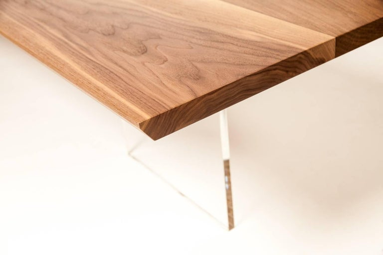 American Coffee Table by Rossi Studio For Sale