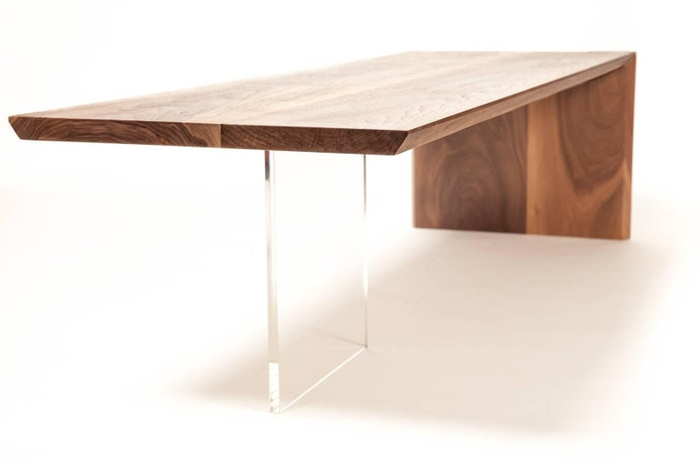 Coffee Table by Rossi Studio In Excellent Condition For Sale In Manchester, MA