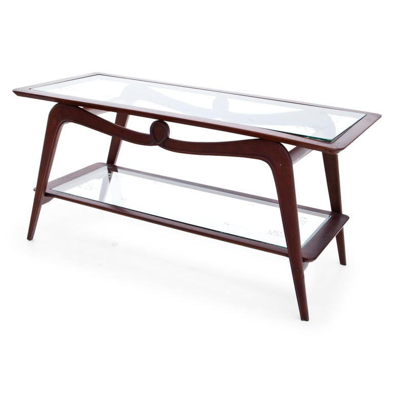 Italian Coffee Table, Italy, 1940s For Sale