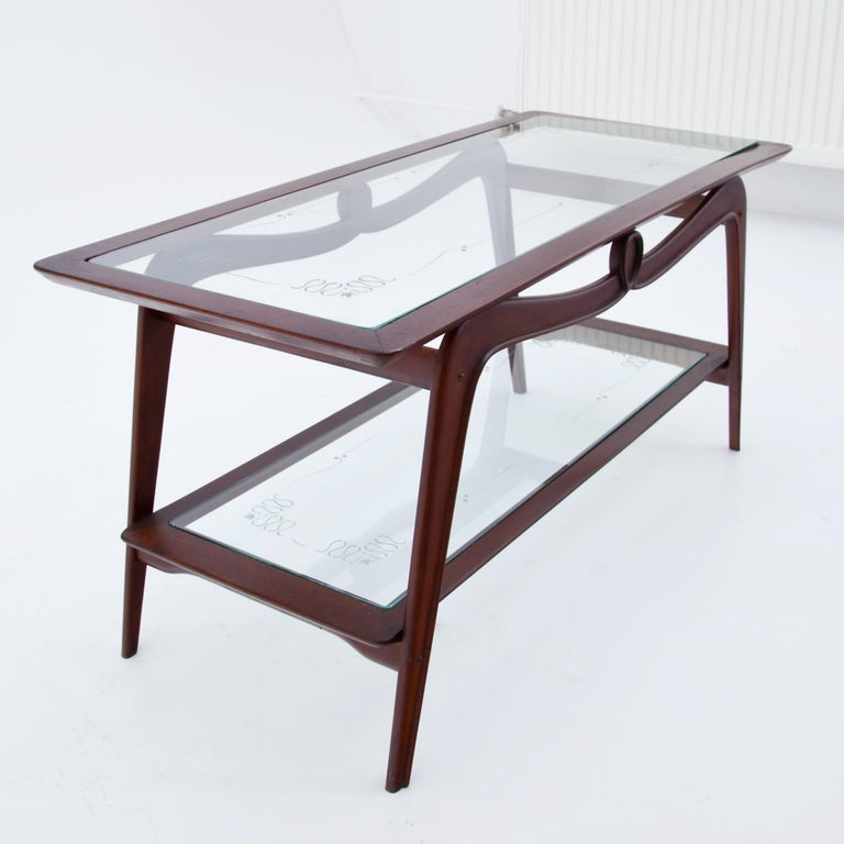 Mid-20th Century Coffee Table, Italy, 1940s For Sale