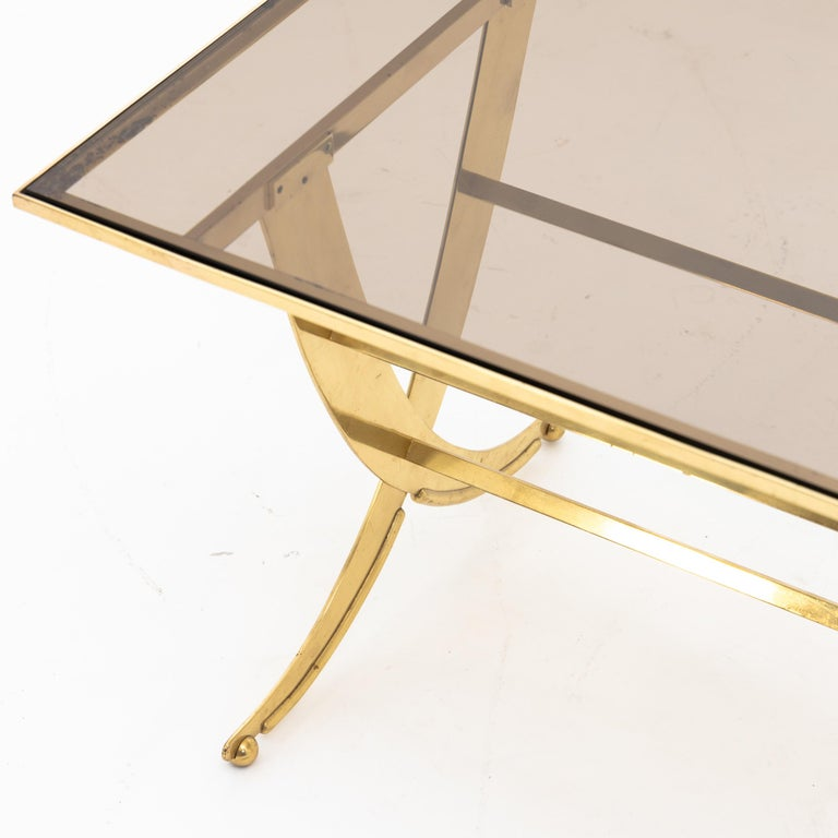 European Coffee Table, Italy, Mid-20th Century For Sale
