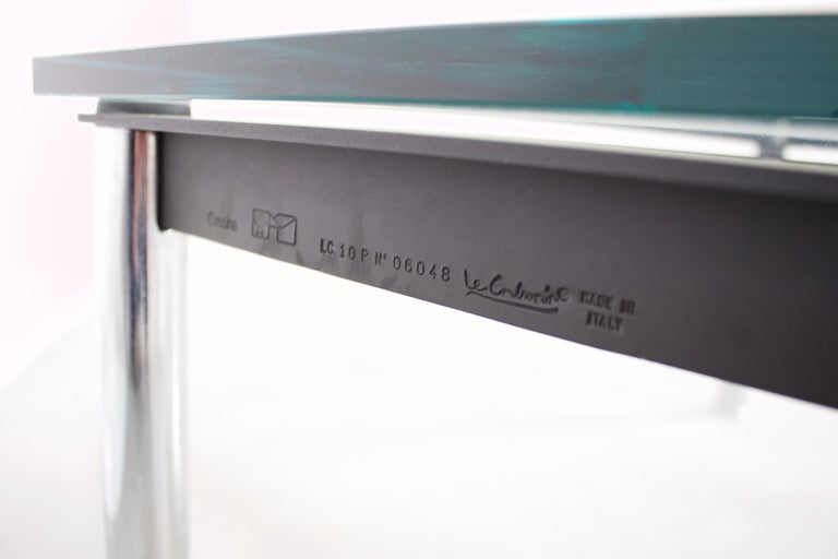 Mid-Century Modern Coffee Table 'LC10' by Le Corbusier for Cassina, 1924 For Sale