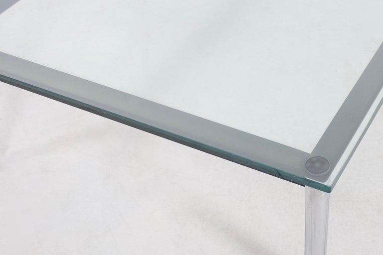 Coffee Table 'LC10' by Le Corbusier for Cassina, 1924 In Good Condition For Sale In Echt, NL