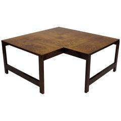 Coffee Table Model Moduline, Rosewood by Ole Gjerløv-Knudsen and Torben Lind