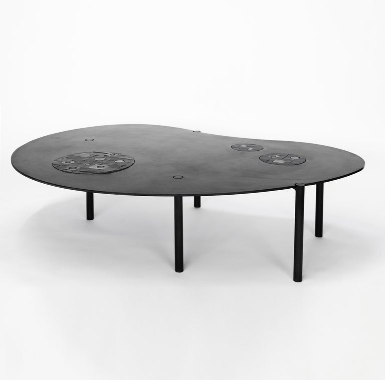 Modern Coffee Table No. 12 by JM Szymanski For Sale