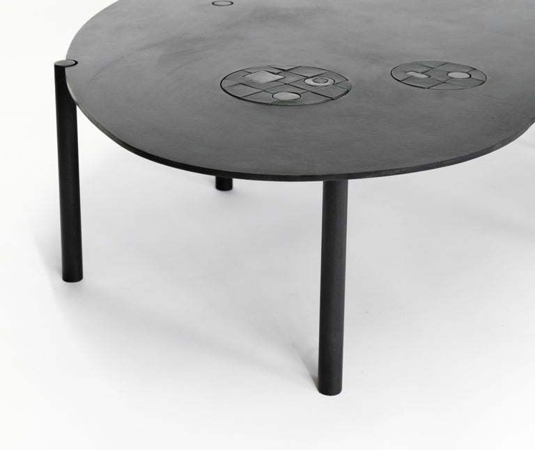 Contemporary Coffee Table No. 12 by JM Szymanski For Sale