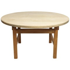 Coffee Table of Oak Designed by Hans J. Wegner and Manufactured by PP. Furniture
