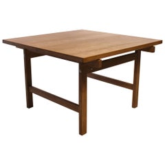 Coffee Table of Oak Designed by Hans J. Wegner and PP Furniture, 1960s