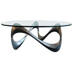 """Coffee Table """"Schlangentisch"""" by Roland Schmitt, 1965"""