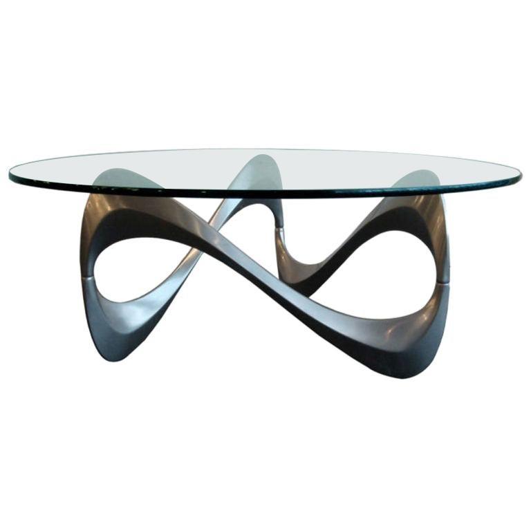 """Coffee Table """"Schlangentisch"""" by Roland Schmitt, 1965 For Sale"""