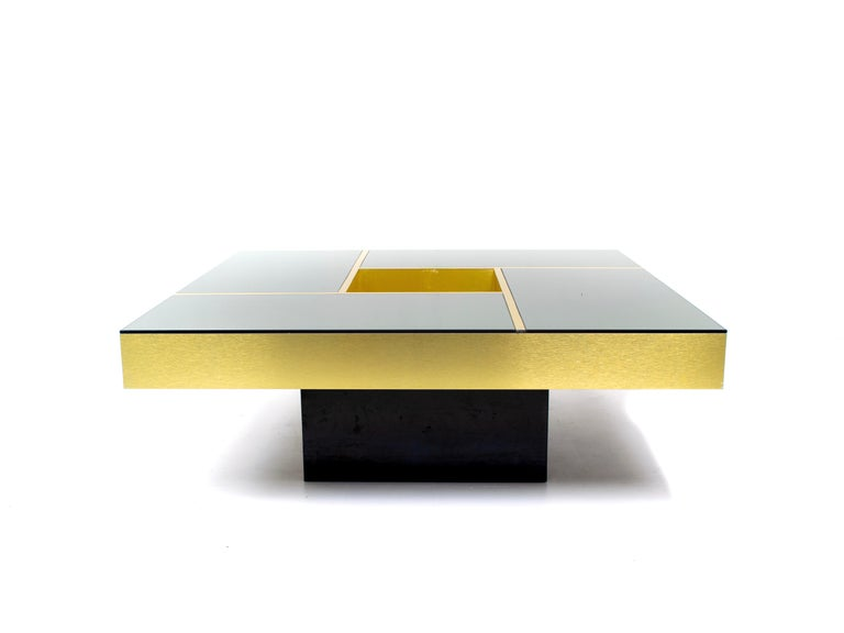 Late 20th Century Coffee Table 'Shilling' by Giovanni Ausenda & Guido Baldi Grossi, Italy, 1970s For Sale