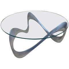 "Coffee Table ""Snake"", Knut Hersterberg, 1970"