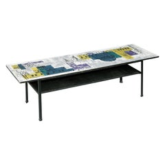 Coffee Table, Sofa Table, John Piper, London Skyline, Myer, Heals, Conran