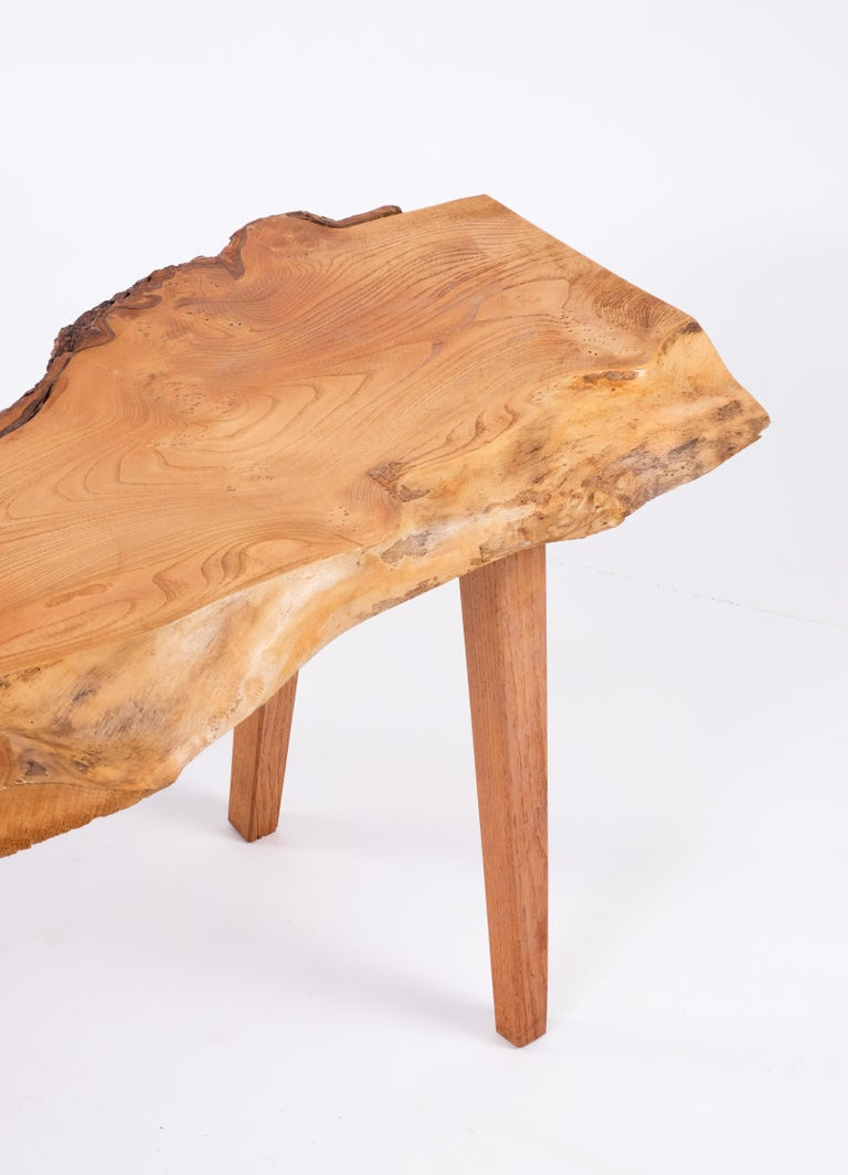 Pine Coffee Table, Sweden, 1970s For Sale