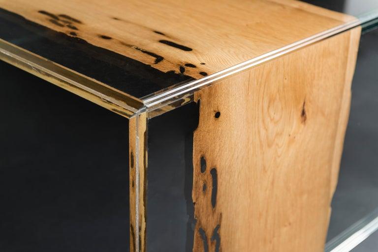 Coffee Table Venezia, in Glass and Venetian Briccola, Italy In New Condition For Sale In Quinto di Treviso, Treviso