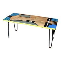 """Coffee Table """"Vergangenheit schmiedet Zukunft"""" by Markus Friedrich Staab"""