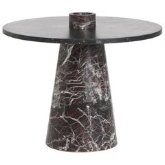 Coffee Table with Accessories in Marble, by Karen Chekerdjian, Made in Italy