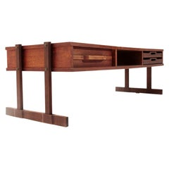 Coffee Table with Drawer and Trays, 1960s