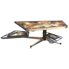 Coffee Table with System, circa 1950