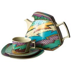 Coffee Tea Service Flash One Dorothy Hafner Rosenthal Studio-Line Germany, 1980s