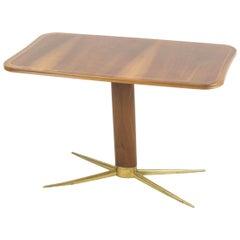 Coffee Table by Oswald Haerdtl Sidetable Midcentury Vienna 1950s Hagenauer Brass