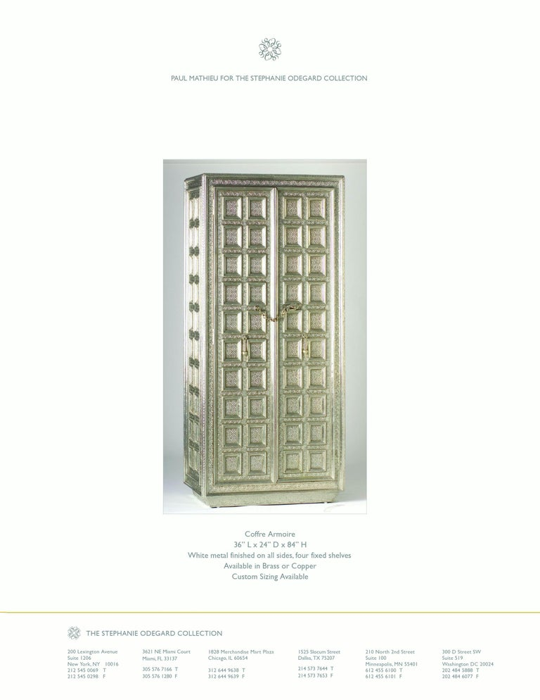 American Coffre Armoire For Sale