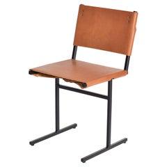 Cognac and Black Memento Chair, Jesse Sanderson