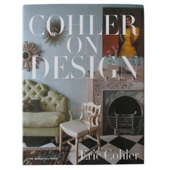 """Cohler on Design"" Hard Cover Coffee Table Book"