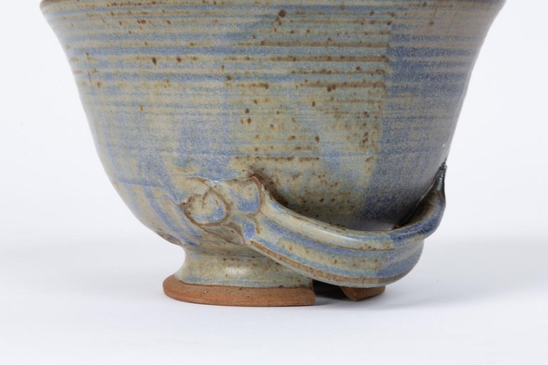 Colander Style Studio Pottery Bowl For Sale 3