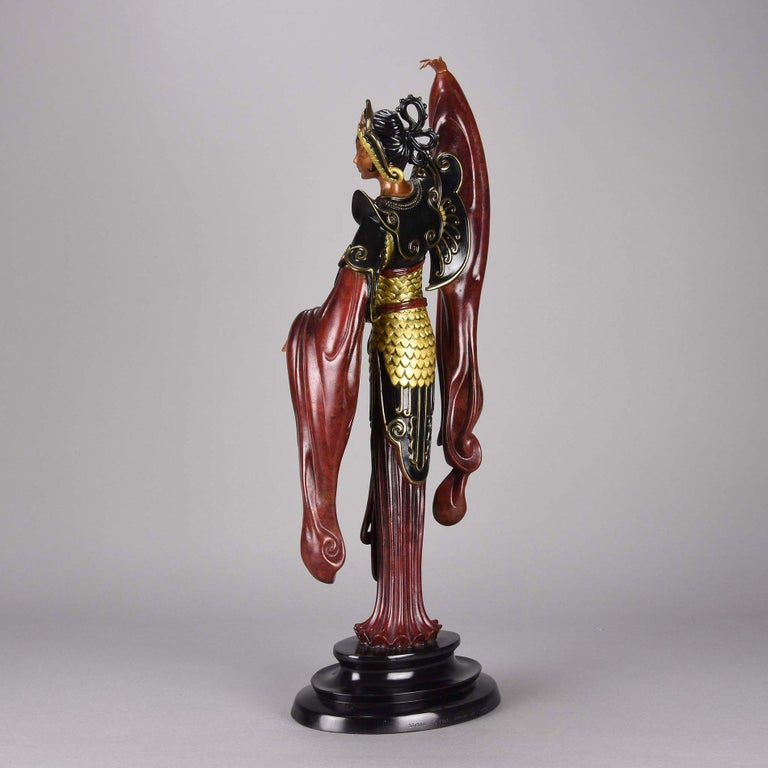Cold Painted Limited Edition Bronze Figure