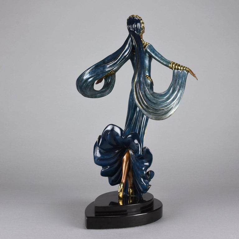 Russian Cold Painted Limited Edition Bronze Figure