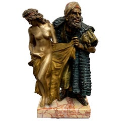 Cold Painted Orientalist Vienna Bronze by Franz Bergman