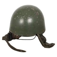 Cold War Era Polish Paratrooper Helmet, circa 1950