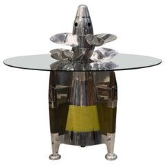 Cold War Era Torpedo Coffee Table, circa 1980
