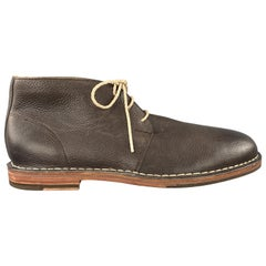 COLE HAAN Size 11 Brown Leather Chukka Boots