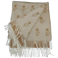 Colefax and Fowler Cashmere Decorative Throw