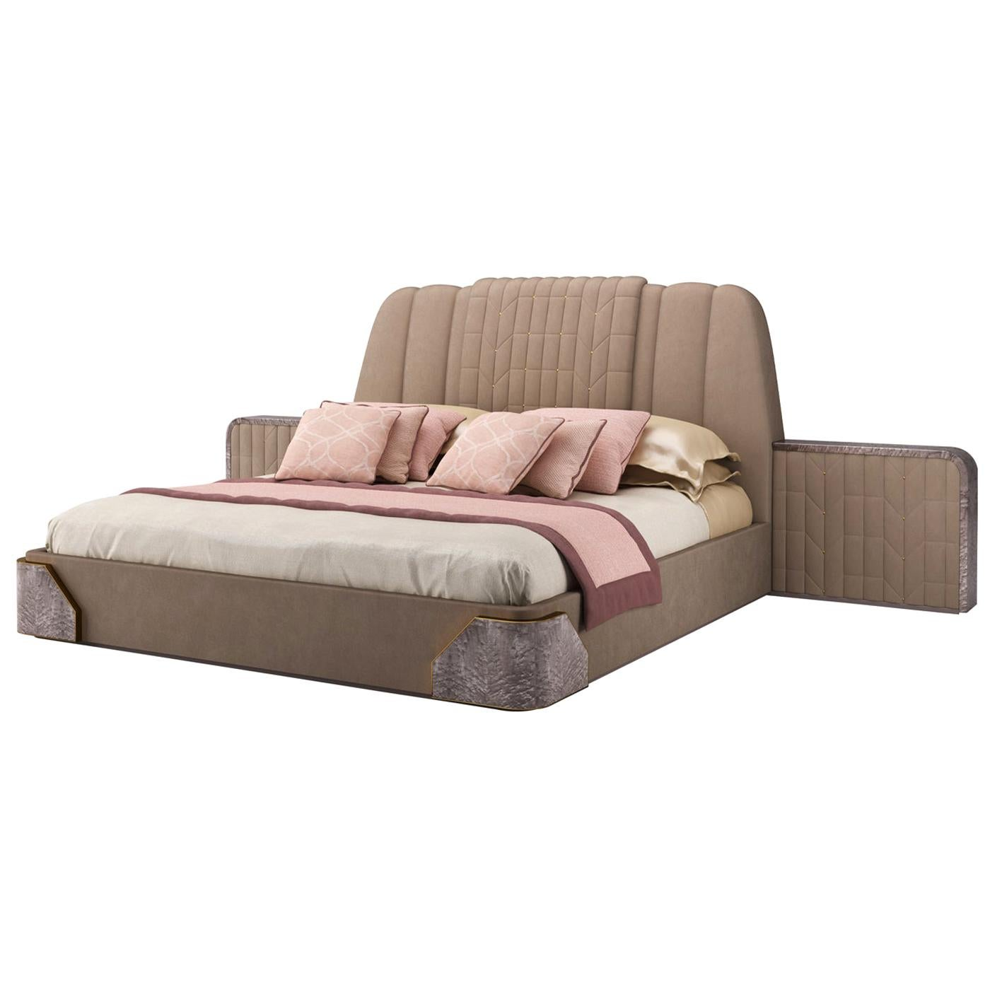 Coleman Upholstered Double Bed