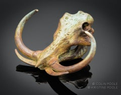 """Grand Tusker Talisman"" Bronze Sculpture"
