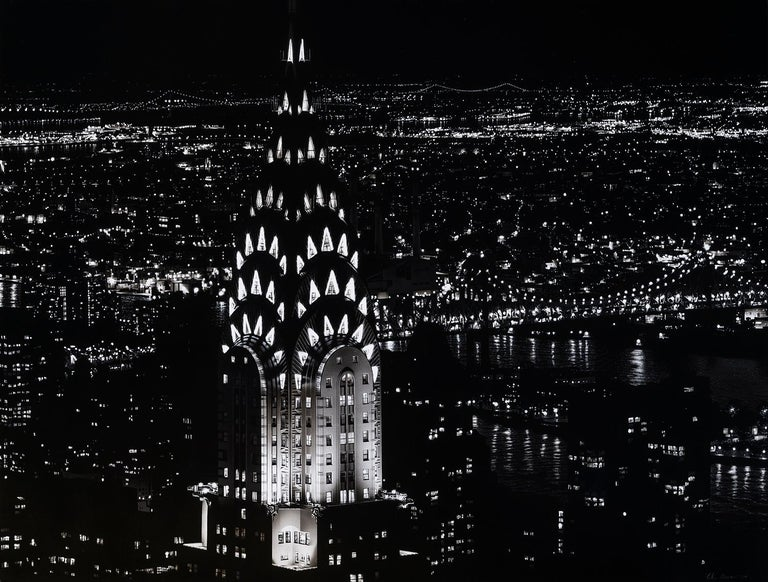 Chrysler Building - Mixed Media Art by Colin Brown