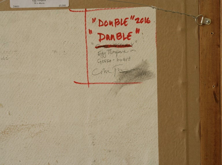 DOUBLE DAMBLE..Colin Fraser contemporary Scottish artist   For Sale 3